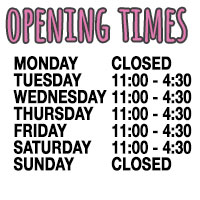 Opening times for Prettiez